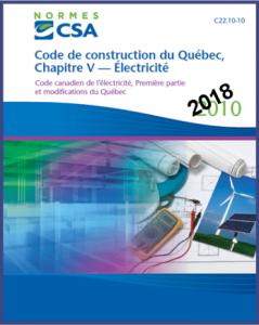 modification code électrique Québec